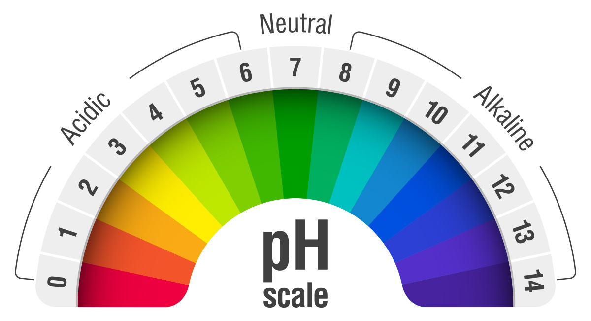 ph scale for water filtration